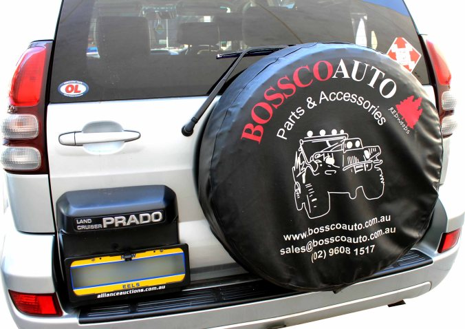 wheel cover on car