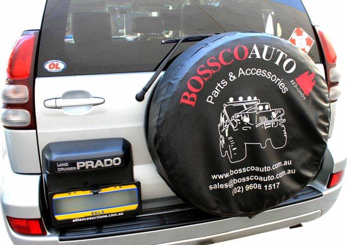 wheel cover on car